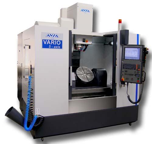 Rewelacyjny 5-osiowe Centra Obróbkowe – Fabryka Obrabiarek Precyzyjnych AVIA S.A. CN14